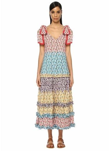 Beymen&Designer Plaj Elbisesi Renkli